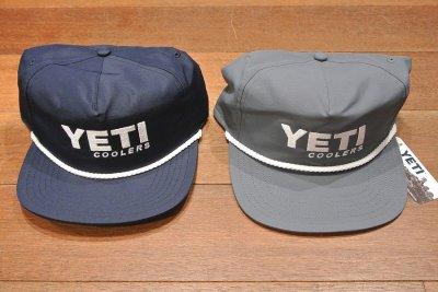 画像1: 【クリックポスト198円も可】日本未発売 YETI COOLERS TRACKER CAP イエティ キャップ (GRAY) クーラーボックス