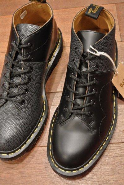 画像1: 新品 エンジニアドガーメンツ×ドクターマーチン イングランド製 コンビ アシンメトリー CHUECH (SMOTH+PEBBLE/UK8/27cm) Engineered Garments×Dr.Martens