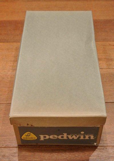 画像3: 60-70's デッドストック Deadstock Pedwin プレーントゥ (Black/9-B) 黒 箱入り