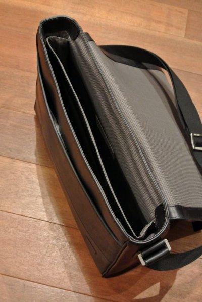 画像3: SALE!! JACK SPADE(ジャックスペード) レザー ショルダーバッグ FULTON LEATHER MESSENGER (Black) $498 新品 並行輸入