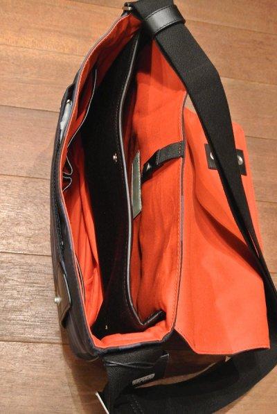 画像3: SALE!! JACK SPADE(ジャックスペード) レザー ショルダーバッグ CAMO WAXED COTTON ZIP MESSENGER 新品 並行輸入