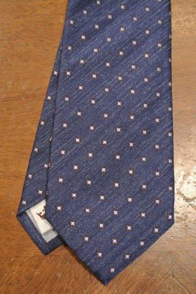 画像2: 【クリックポスト185円も可】PETER MILLAR シルク ネクタイ イタリア製 (Blue) 新品