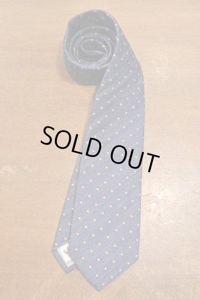 画像1: 【クリックポスト185円も可】PETER MILLAR シルク ネクタイ イタリア製 (Blue) 新品 (1)