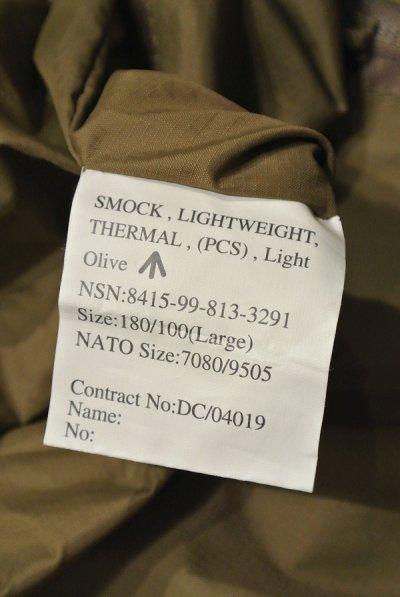 画像3: 【EXCELLENT USED】British Army PCS Thermal Smock / イギリス軍 プルオーバー サーマルスモック【L】中古