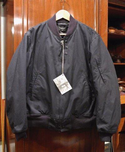 画像2: Engineered Garments (エンジニアドガーメンツ) Aviator Jacket Nyco Ripstop(DarkNavy/L) 新品