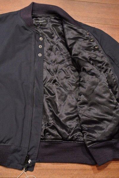 画像3: Engineered Garments (エンジニアドガーメンツ) Aviator Jacket Nyco Ripstop(DarkNavy/L) 新品
