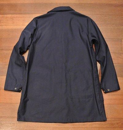 画像3: Engineered Garments WORKADAY(エンジニアドガーメンツ) コットンツイル ショップコート(Navy/L) 新品