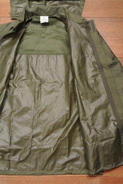 画像3: 【クリックポスト185円も可】80-90s デッドストック フランス軍 レインジャケット 【OD/88(M),100(L-LL)】Deadstock ARMY