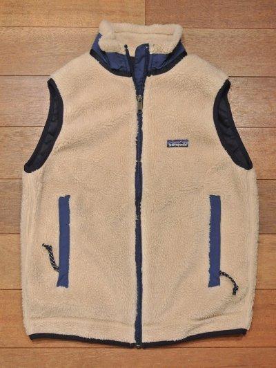 画像2: 【'96 VTG/GOOD USED】Patagonia Retro-X Vest レトロXベスト アメリカ製 (Natural/S)グッドコンディションユーズド