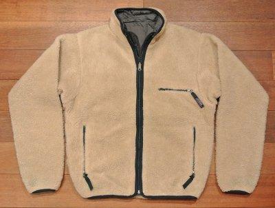画像2: 【'97 VTG/GOOD USED】Patagonia Pile Glissade Cardigan リバーシブルグリセード アメリカ製 (Natural/Gray,S)グッドコンディションユーズド