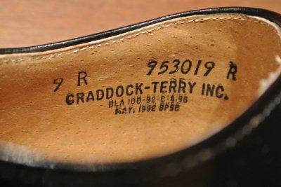 画像3: 箱入りデッドストック 1992年製 U.S NAVYサービスシューズ 【9-R】 CRADDOCK TERRY INC.製