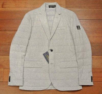 画像2: ポロラルフローレン 中綿キルティング カットソー テイラードジャケット(Gray/S) 新品 定価41040