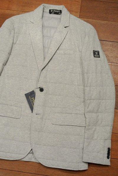 画像1: ポロラルフローレン 中綿キルティング カットソー テイラードジャケット(Gray/S) 新品 定価41040