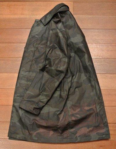 画像3: JACK SPADE(ジャックスペード) WAXED COTTON CAMO COAT オイルドコットン カモ ステンカラーコート(M) 新品 日本未発売 並行輸入 $498