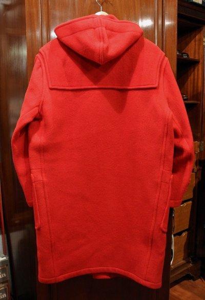 画像3: 【USED】GLOVERALL グローバーオール ダッフルコート(RED)イギリス製 中古