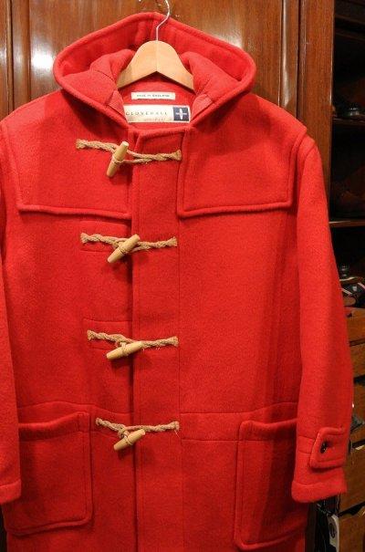 画像2: 【USED】GLOVERALL グローバーオール ダッフルコート(RED)イギリス製 中古