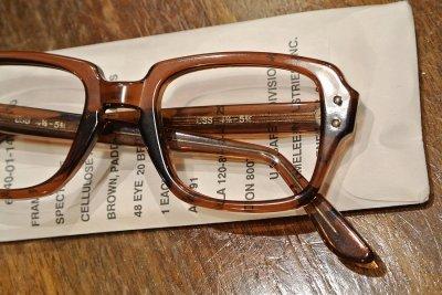 画像2: 80年代製 デッドストック USS MILITARY EYEGLASEES GI GLASSES アメリカ軍 眼鏡 メガネ(48-20)Birth Control Glasses