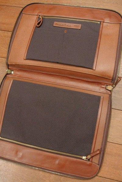 画像3: Daniel&Bob ダニエル&ボブ TAKU レザー ブリーフケース イタリア製 ショルダーストラップつき (BROWN) 未使用品 74520