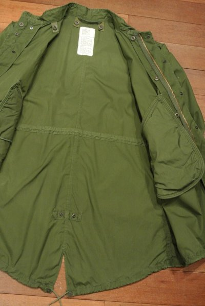 画像3: (VTG/USED)1982年 U.S ARMY M-65 Field Parka COAT モッズコート 【MEDIUM】中古