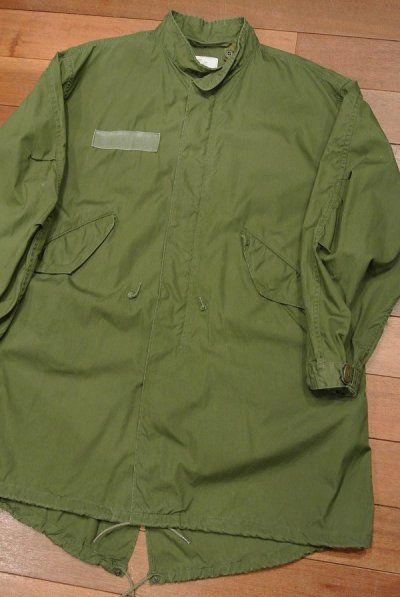 画像2: (VTG/USED)1982年 U.S ARMY M-65 Field Parka COAT モッズコート 【MEDIUM】中古