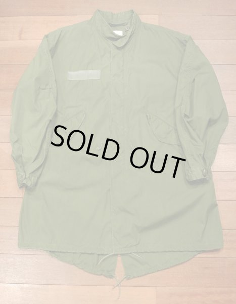画像1: (VTG/USED)1982年 U.S ARMY M-65 Field Parka COAT モッズコート 【MEDIUM】中古 (1)