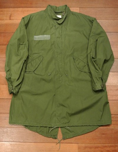 画像1: (VTG/USED)1982年 U.S ARMY M-65 Field Parka COAT モッズコート 【MEDIUM】中古