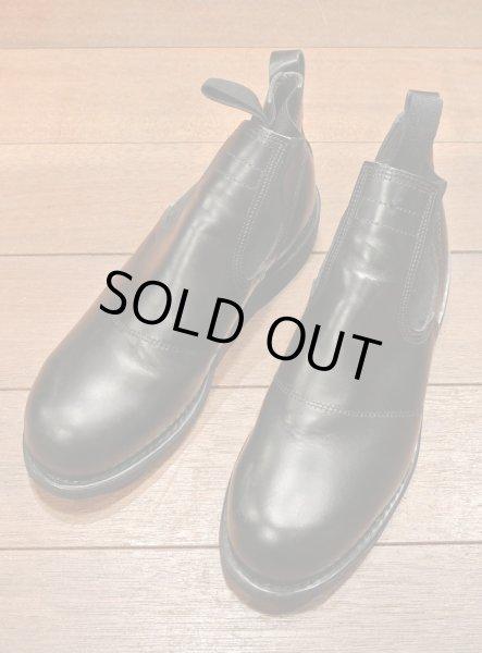 画像1: 2000年 Deadstock デッドストック U.S NAVY Molders Shoes USネイビー サイドゴアブーツ (8R)箱なし  (1)