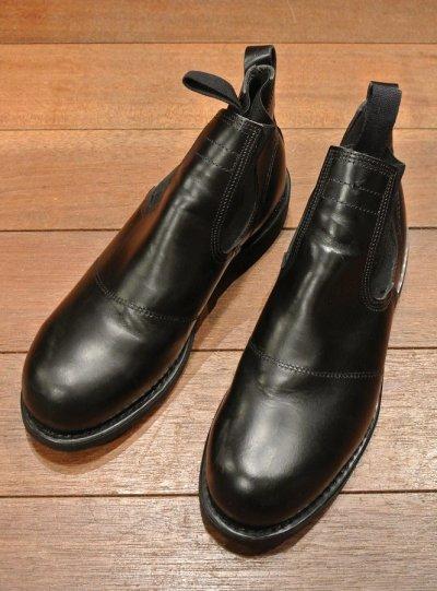 画像1: 2000年 Deadstock デッドストック U.S NAVY Molders Shoes USネイビー サイドゴアブーツ (8R)箱なし