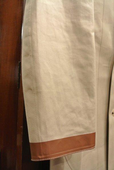 画像2: 未使用品 Mackintosh(マッキントッシュ) ゴム引き インバーテッド ステンカラーコート(BEIGE/36) インサイドアウト スコットランド製