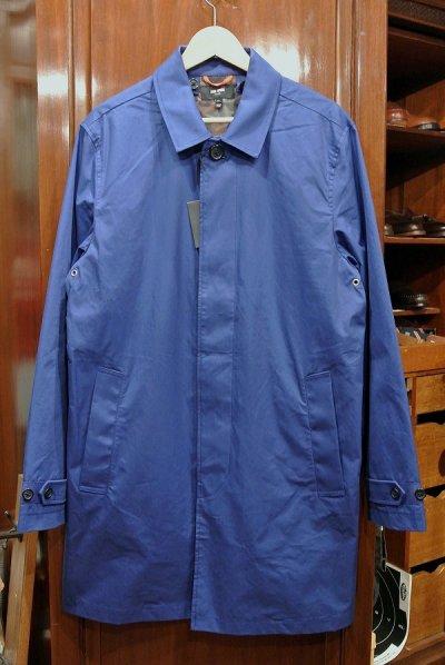 画像1: JACK SPADE (ジャックスペード) ステンカラーコート (BLUE/L) 新品 日本未発売 並行輸入 $398
