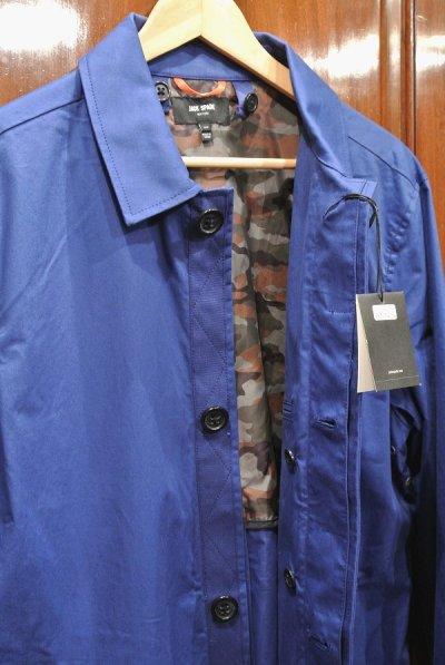 画像2: JACK SPADE (ジャックスペード) ステンカラーコート (BLUE/L) 新品 日本未発売 並行輸入 $398