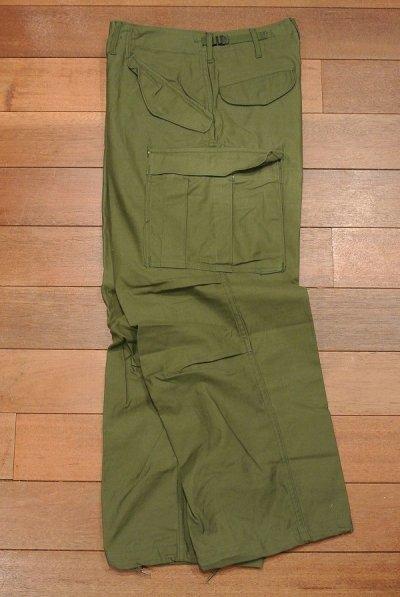 画像2: 1967年 デッドストック U.S ARMY M-65 Field Trousers【SMALL-SHORT】初期型 サテン フィールドパンツ アルミジップ