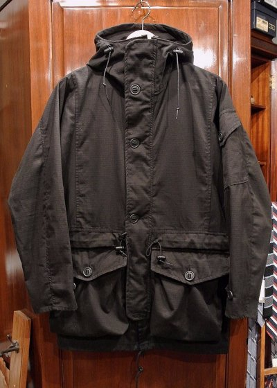 画像1: (USED) ArkAir Military Grade Smock MADE IN ENGLAND【Black/S】中古 イングランド製