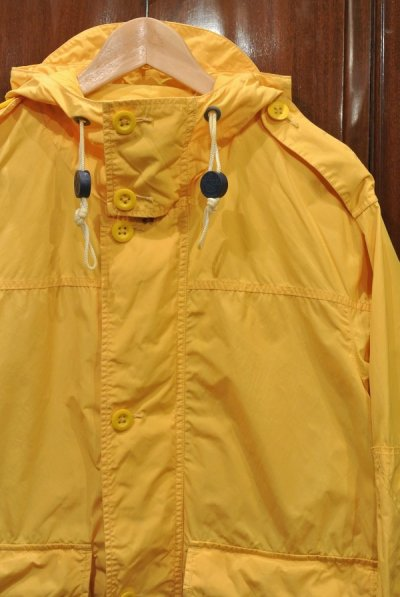 画像2: (USED)ポロラルフローレン コットン×ナイロン フードジャケット  パーカー【Yellow/M】中古