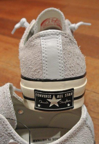 画像3: CONVERSE CT70 ZIP OX (PURE PLATINUM,US 8.5/27cm ) コンバース チャックテイラー CT70 ジップ スウェード 日本未発売 新品
