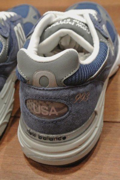 画像3: NEW BALANCE 993 Made in USA 【BLUE/ 8.5-D 】ニューバランス アメリカ製 新品 箱無し