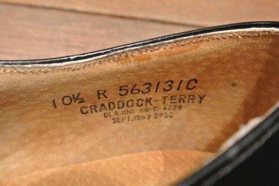 画像2: 89年製 デッドストック U.S NAVYサービスシューズ 【10.5-R】CRADDOCK-TERRY