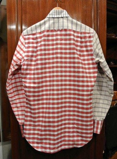 画像3: (USED) Thom Browne トムブラウン オックスフォード クレイジーパターン B.Dシャツ(0) 中古