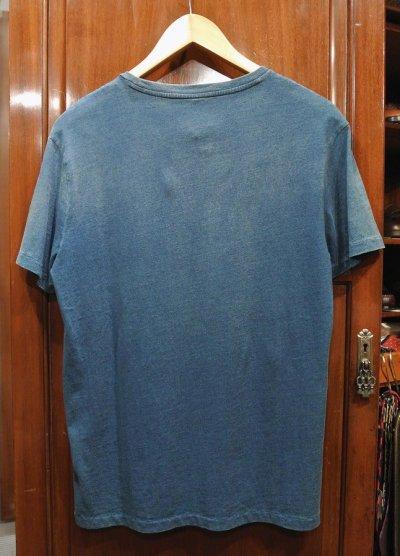 画像3: 【クリックポスト185円も可】ポロラルフローレン インディゴ ポケットTシャツ (Faded Indigo , S) 新品 並行輸入
