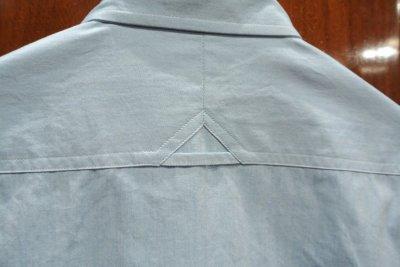 画像3: プライベートホワイト PRIVATE WHITE V.C コットン B.Dシャツ(Blue/2)新品 正規輸入品 定価25920