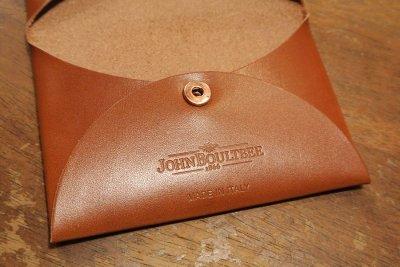 画像3: John Boultbee レザーカードケース 名刺入れ イタリア製 (BROWN) 定価16200 新品