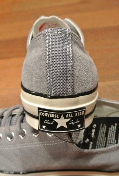 画像3: CONVERSE CT70 SUEDE×NYLON (GRAY,US 9.5/28cm ) コンバース チャックテイラー CT70 スウェード×ナイロン 日本未発売 新品