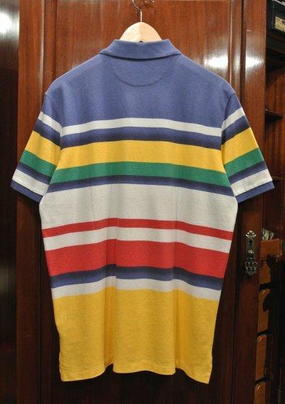 画像3: 【クリックポスト188円も可】ポロラルフローレン マルチカラー ボーダー 鹿の子ポロシャツ(CLASSIC FIT/M) 新品 並行輸入