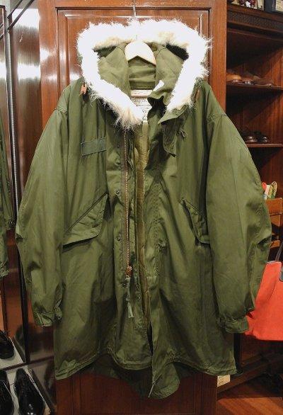 画像1: 【フルセット】70-80s デッドストック U.S ARMY M-65 Field Parka COAT モッズコート ライナー/フード付き【MEDIUM】