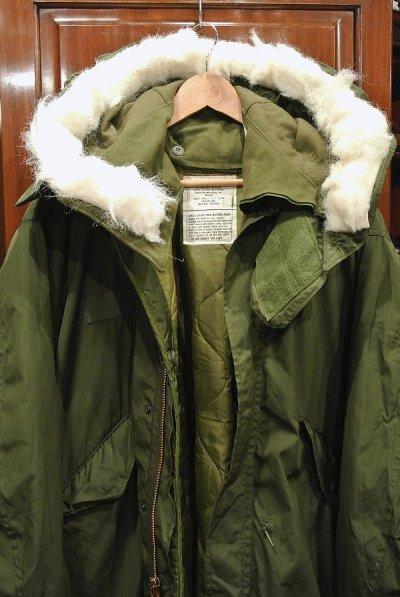 画像2: 【フルセット】70-80s デッドストック U.S ARMY M-65 Field Parka COAT モッズコート ライナー/フード付き【MEDIUM】