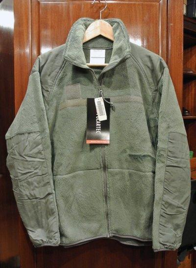 画像1: デッドストック U.S ARMY 米軍 ECWCS LEVEL3 GEN3 フリースジャケット(Foliage Green/ S)