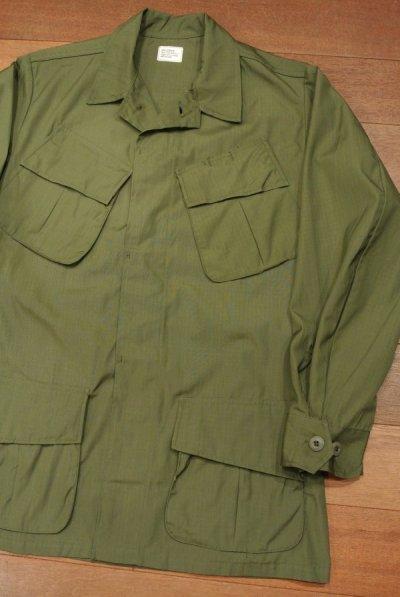 画像2: 68年デッドストック U.S ARMY リップストップ ジャングルファティーグジャケット【SMALL-REGULAR】