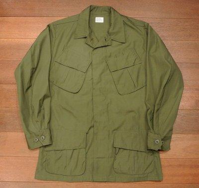 画像1: 68年デッドストック U.S ARMY リップストップ ジャングルファティーグジャケット【SMALL-REGULAR】