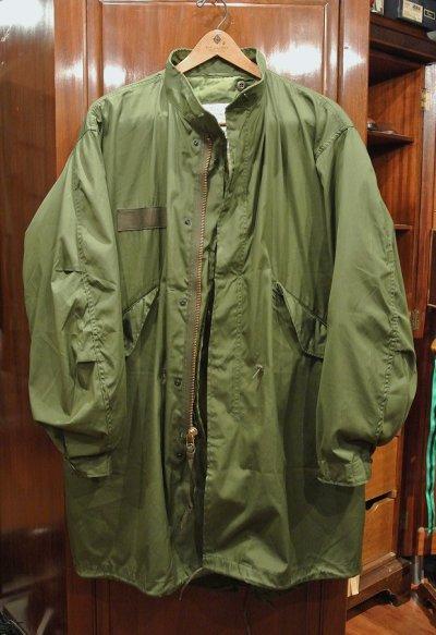 画像1: 【'76 ライナーつき】'83 デッドストック U.S ARMY M-65 Field Parka COAT モッズコート ライナー付き【SMALL】ワンウォッシュ