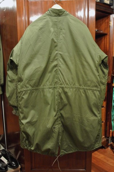 画像2: 【'76 ライナーつき】'83 デッドストック U.S ARMY M-65 Field Parka COAT モッズコート ライナー付き【SMALL】ワンウォッシュ
